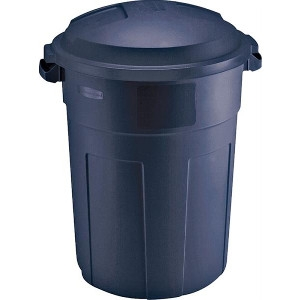 Roughneck Non-Wheeled Trash Container, 32 Gal