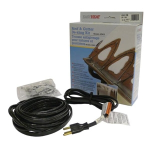 Roof and Gutter Deicing Cable