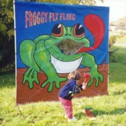 Froggy Fly Fling Carnival Game