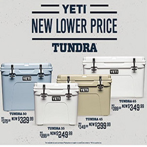 Yeti Hopper & Yeti Tundra  New Lower Price!