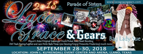 Lace Grace & Gears Motorcycle Rally