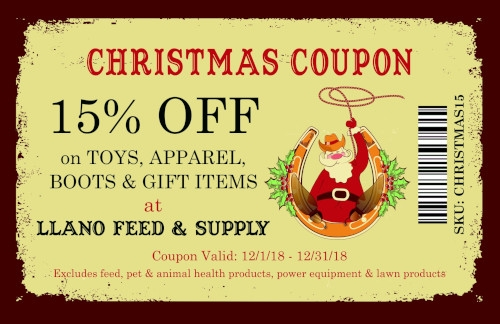 Christmas Coupon