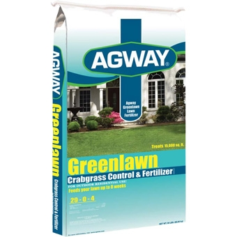 Agway® Greenlawn™ Crabgrass Control & Fertilizer 15M (29-0-4)