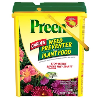 Preen® 16# Garden Weed Preventer Plus Plant Food