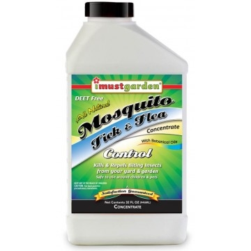 I Must Garden® Mosquito, Tick & Flea Control (32oz Concentrate)