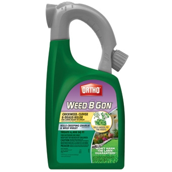 Ortho® Weed B Gon™ Chickweed, Clover & Oxalis Killer (32Oz-RTS-Hose Attach Bottle)
