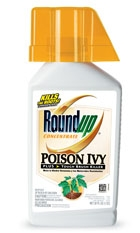 RoundUp® Poision Ivy + Tough Brush Killer (Quart-Concentrate)