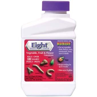 Bonide® Eight™ Flower, Vegetable & Fruit Insect Control (Pint-Concentrate)