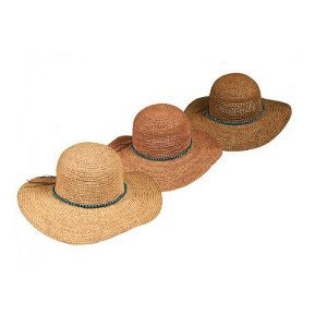 Dorfman & Gold Coast Assorted Straw Hats