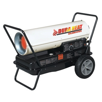 DuraHeat® Portable Kerosene Forced Air Heater 135,000 BTUs