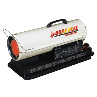 DuraHeat® Portable Kerosene Forced Air Heater 80,000 BTUs