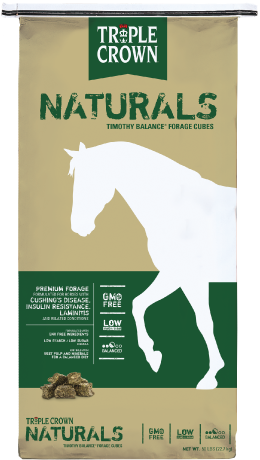 Triple Crown® Naturals™ Premium Alfalfa Forage Cubes