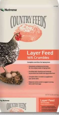 Nutrena®Country Feeds™ Egg Layer Crumble