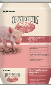 Nutrena® Country Feeds™ Medicated Pig Starter/Grower