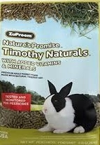Zupreem® Nature's Promise™ Timothy Naturals Premium Rabbit Food 10#