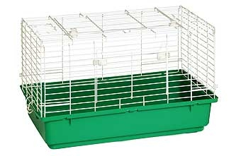 Rabbit Cage-Poly 24.5 Inch (Green)