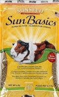 Sunseed SunBasics Guinea Pig Food 6#