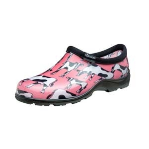 Cowabella Pink Womens Garden Shoes