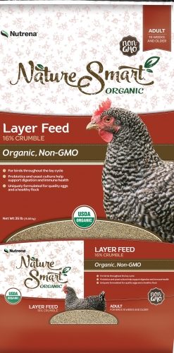 Nutrena® NatureSmart™ Organic Egg Layer Crumble