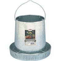 Little Giant®Galvanized Hanging Poultry Feeder (12 Pound Capacity)