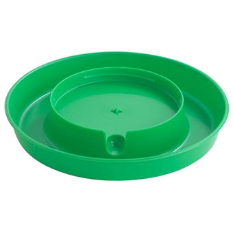 Little Giant® 1 Gallon Screw On Poultry Waterer Base (Lime Green)