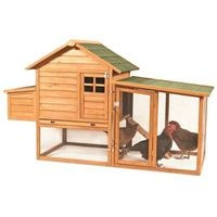 Peaked Roof Chicken Hutch