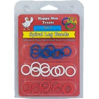 Happy Hen™ Sprial Leg Bands (Size 9-24 Pack)