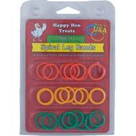 Happy Hen™ Sprial Leg Bands (Size 11-24 Pack)