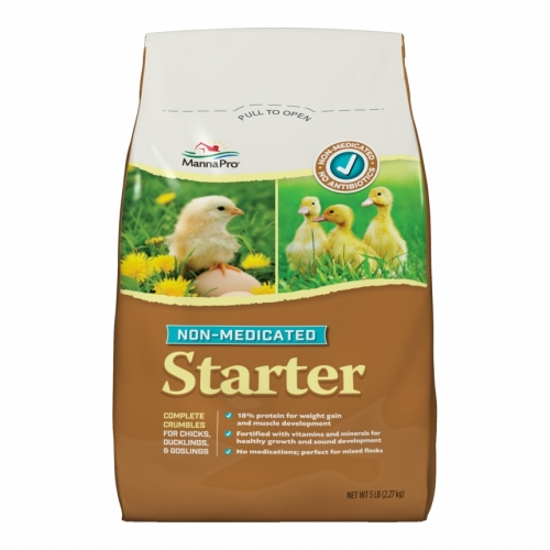 Manna Pro® Non-Medicated Poultry Starter (5# Bag)