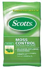 Scotts® Moss Control Granules for Lawns (5,000 SqFt Coverage)