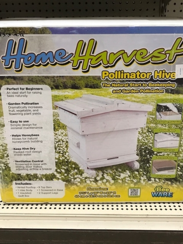 Home Harvest Bee Pollinator Hive