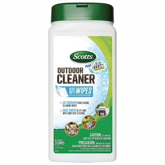 Scotts® Plus OxiClean™ Outdoor Cleaner Wipes (25 Count)