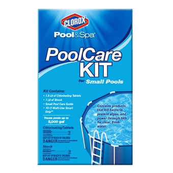 Clorox® Pool & Spa™ Pool Care Kit for Small Pools