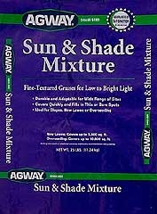 Agway® Sun and Shade™ Grass Seed (25#)