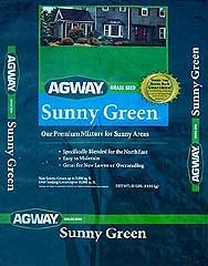 Agway® Sunny Green™ Grass Seed (3#)