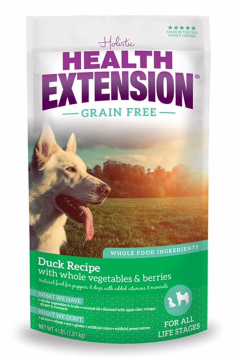 Health Extension® Grain Free Duck Recipe Dog Food (10#)