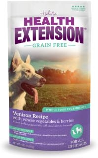 Health Extension® Grain Free Venison Recipe Dog Food (23.5#)