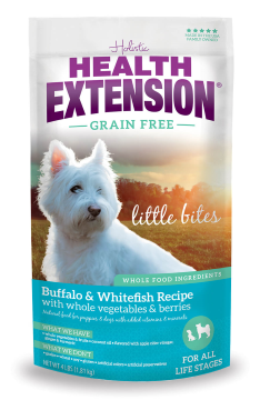 Health Extension® Grain Free Little Bites™ Buffalo & Whitefish Recipe Dog Food (23.5#)