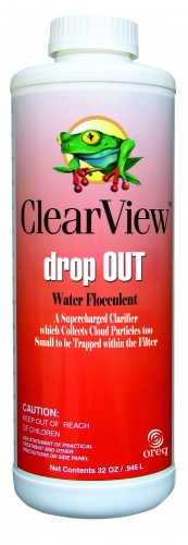 ClearView™ drop Out Water Flocculent (Quart)