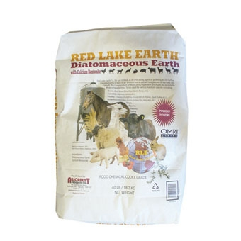 Red Lake® Diatomaceous Earth-Food Grade & ORMI Certified Organic (40#)