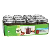 Ball® Regular Mouth (8 Ounce) Quilted Jelly Mason Jars (12/Case)