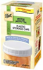 Ball® Wide Mouth Plastic Storage Caps (8/Box)
