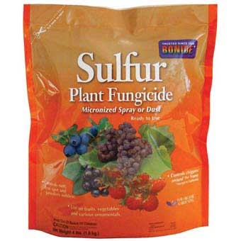 Bonide® Sulfur Plant Fungicide (4# Micronized Spray or Dust)