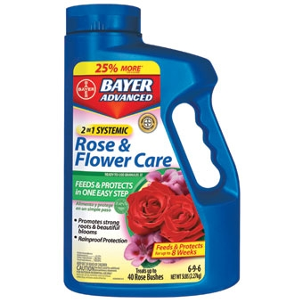 Bayer® Advanced 2-in-1 Systemic Rose & Flower Care (5#)