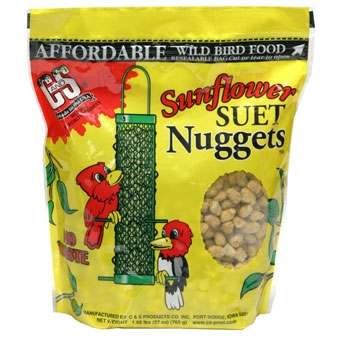 C&S® Sunflower Suet Nuggets™ (27oz)