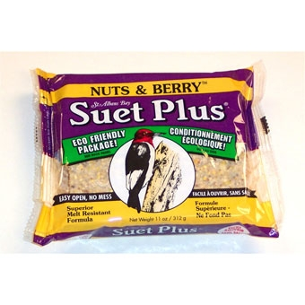 Suet Plus® Nuts & Berries  Suet Cake (11 Oz)