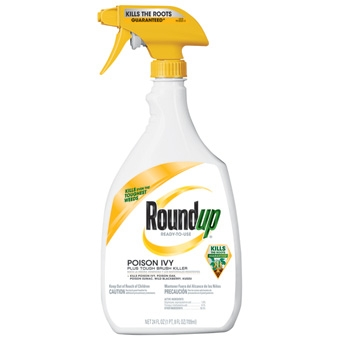 Roundup® Poision Ivy + Tough Brush Killer (24 Oz-RTU)