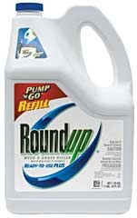 Roundup® Pump-n-Go™ Weed & Grass Killer--Refill Jug (1.25 Gallon)