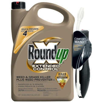Roundup® Extended Control™ Weed & Grass Killer with Comfort Wand (1.33 Gallon-RTU)