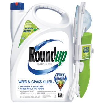 Roundup® Weed & Grass Killer with Sure Shot Wand™  (1.33 Gallon-RTU)